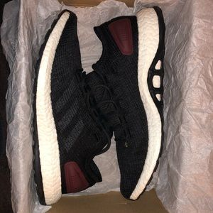 Adidas PureBoost Core Black Cardinal Size 9